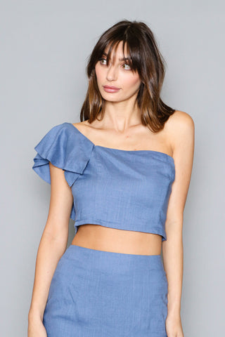 Isla Cold Shoulder Top