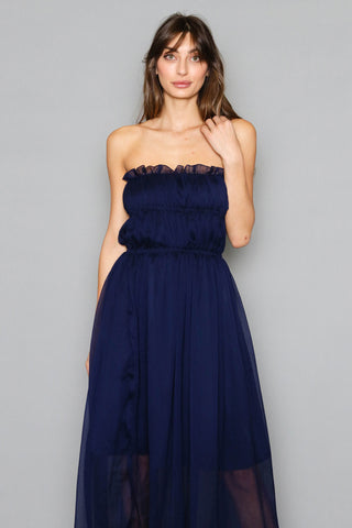 Tahitian Escape Strapless Dress