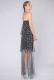 Sienna Strapless Maxi Dress - Black - Alpha-Be The Label