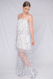 Sienna Strapless Maxi Dress - White - Alpha-Be The Label
