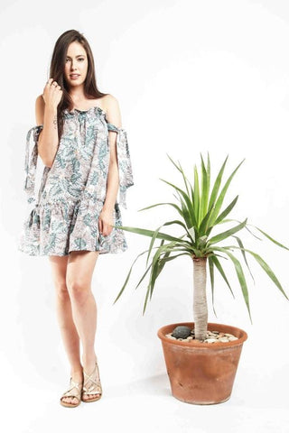 Sahara Dress - Tropical Print - Alpha-Be The Label