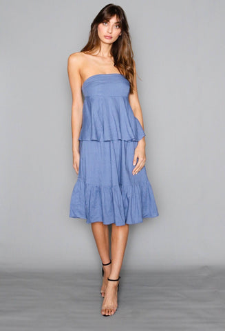Isla Strapless Dress