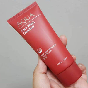 AQUA Face Wash Cleanser