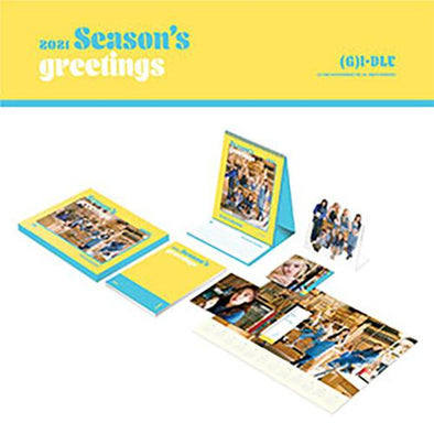 ALADIN [PRE-ORDER] (G)I-DLE - 2021 SEASON'S GREETINGS
