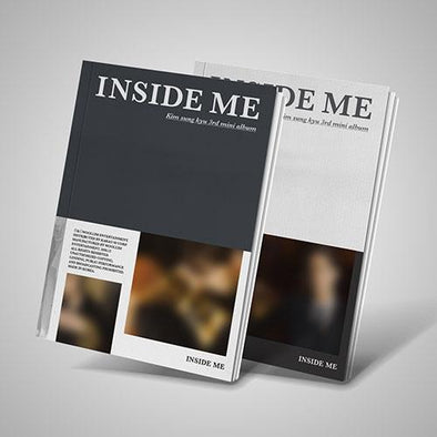 Apple Music ALL(A+B) [PRE-ORDER] KIM SUNG KYU - 3RD MINI ALBUM [INSIDE ME]