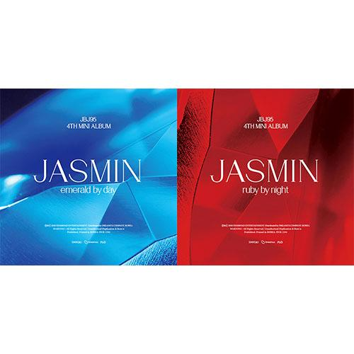 Apple Music ALL(EMERALD BY DAY+RUBY BY NIGHT) [PRE-ORDER] JBJ95 - 4TH MINI ALBUM [JASMIN]