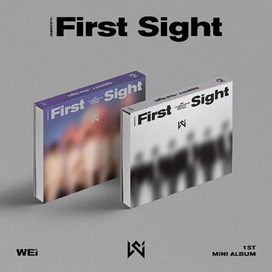 Apple Music ALL(WE+i) [PRE-ORDER] WEi - 1ST MINI ALBUM [IDENTITY : FIRST SIGHT]