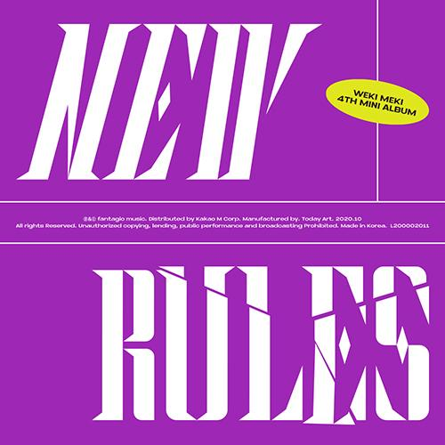 Apple Music BREAK ver. [PRE-ORDER] WEKI MEKI - 4TH MINI ALBUM [NEW RULES]