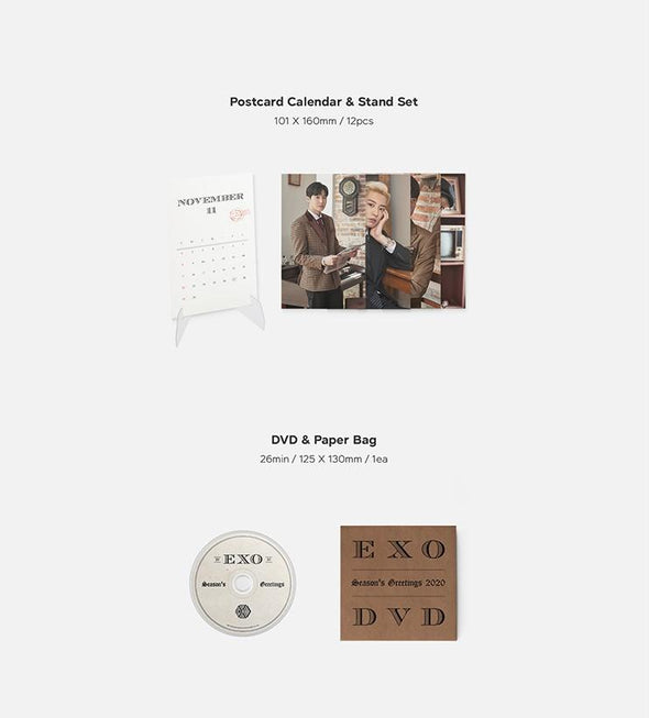 Apple Music [HOT SALE] EXO 2020 SEASON'S GREETINGS