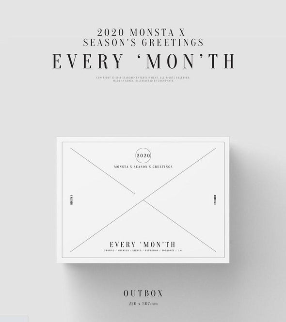 Apple Music [HOT SALE] MONSTA X 2020 SEASON'S GREETINGS