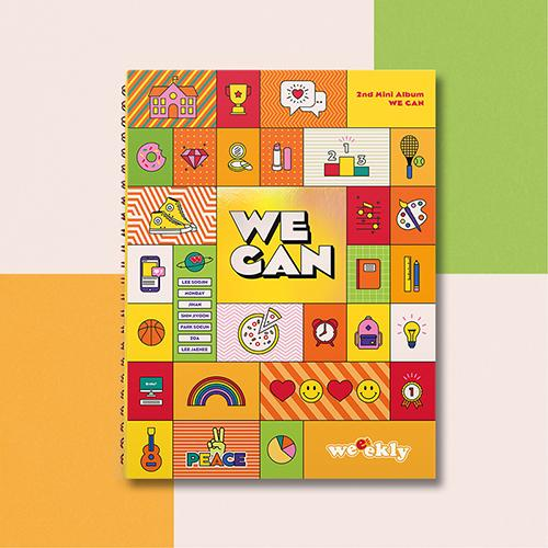 Apple Music ORB ver. [PRE-ORDER] WEEEKLY - 2ND MINI ALBUM [WE CAN]