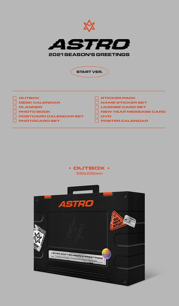Apple Music [PRE-ORDER] ASTRO - 2021 SEASON'S GREETINGS