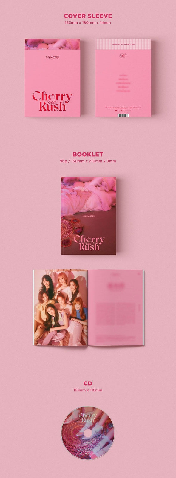Apple Music [PRE-ORDER] CHERRY BULLET - 1ST MINI ALBUM [CHERRY RUSH]