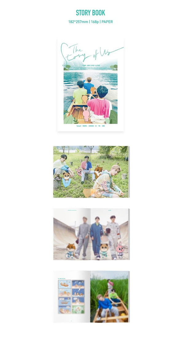 Apple Music [PRE-ORDER] DAY6 : EVEN OF DAY - STORY BOOK [THE STORY OF US : THE ARCANE LAND]
