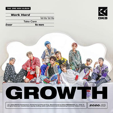 Apple Music [PRE-ORDER] DKB - 3RD MINI ALBUM [GROWTH]