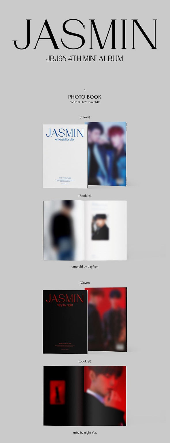 Apple Music [PRE-ORDER] JBJ95 - 4TH MINI ALBUM [JASMIN]