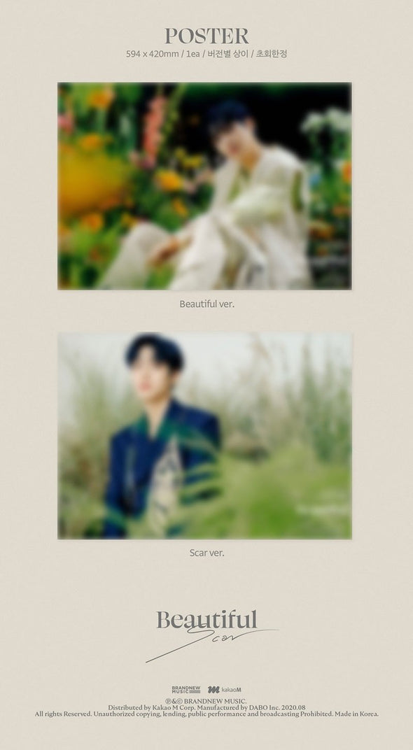 Apple Music [PRE-ORDER] LEE EUN SANG - 1ST SINGLE ALBUM [BEAUTIFUL SCAR]