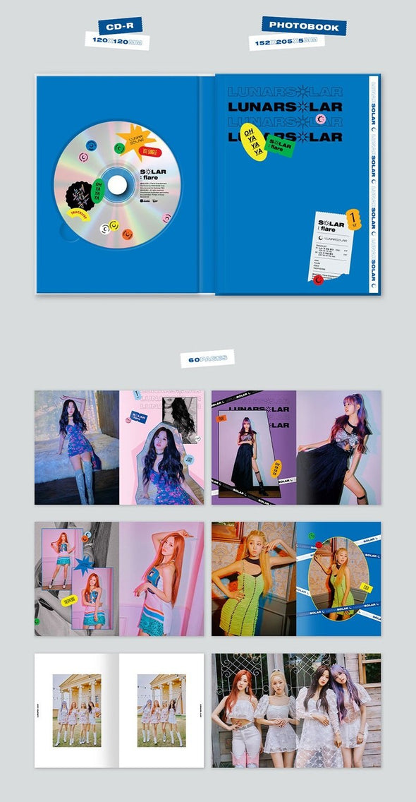 Apple Music [PRE-ORDER] LUNARSOLAR - 1ST SINGLE ALBUM [SOLAR : FLARE]