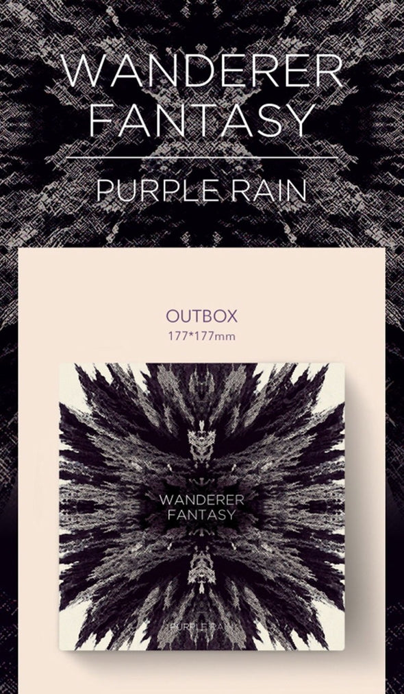 Apple Music [PRE-ORDER] PURPLE RAIN - 1ST OFFICIAL ALBUM [WANDERER FANTASY]