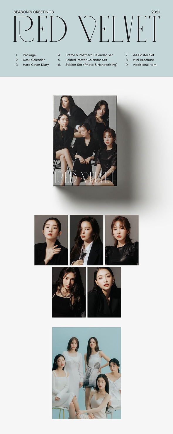 Apple Music [PRE-ORDER] RED VELVET - 2021 SEASON'S GREETINGS