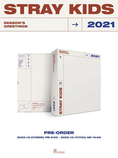 Apple Music [PRE-ORDER] STRAY KIDS - 2021 SEASON'S GREETINGS