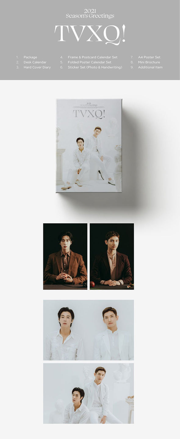 Apple Music [PRE-ORDER] TVXQ! - 2021 SEASON'S GREETINGS