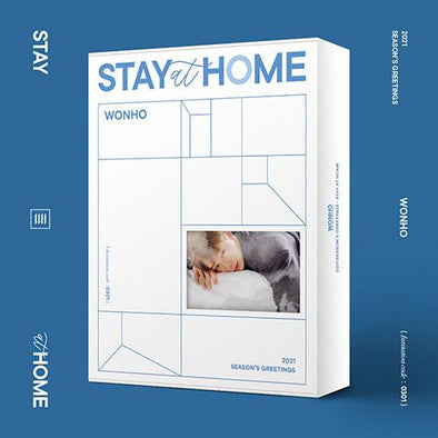Apple Music [PRE-ORDER] WONHO - 2021 SEASON'S GREETINGS [STAY AT HOME]