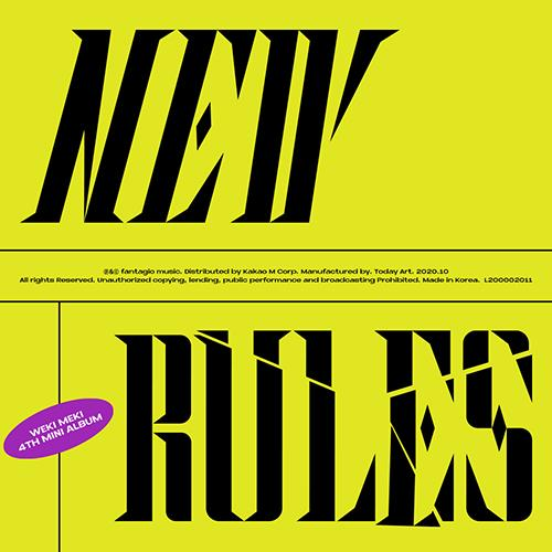 Apple Music TAKE ver. [PRE-ORDER] WEKI MEKI - 4TH MINI ALBUM [NEW RULES]