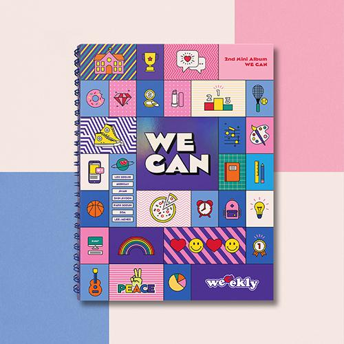 Apple Music WAVE ver. [PRE-ORDER] WEEEKLY - 2ND MINI ALBUM [WE CAN]