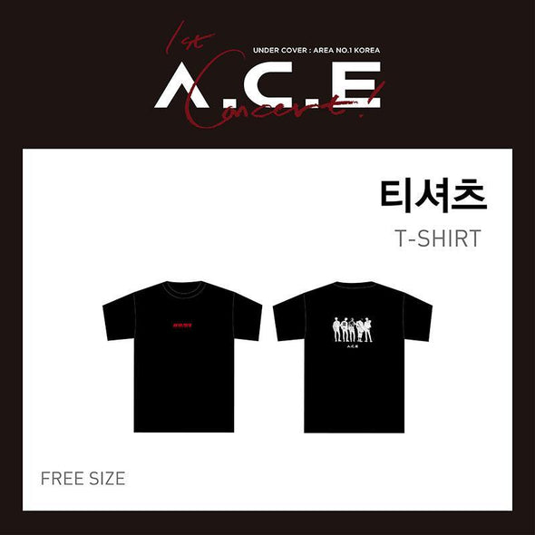 COKODIVE 02 T-shirt A.C.E - 1ST CONCERT [UNDER COVER] OFFICIAL MD