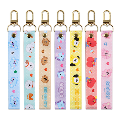 COKODIVE ALL CHARACTERS BT21 X MONOPOLY BABY HAND STRAP