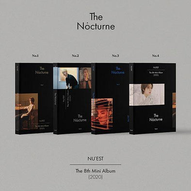 COKODIVE ALL(No.1+No.2+No.3+No.4) [PRE-ORDER] NU`EST - 8TH MINI ALBUM [NOCTURNE]