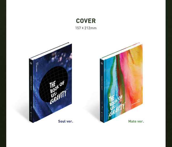 COKODIVE ALL (SOUL ver. + MATE ver.) [PRE-ORDER] DAY6 - 5TH MINI ALBUM [THE BOOK OF US: GRAVITY]