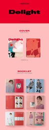 COKODIVE BAEK HYUN - 2ND MINI ALBUM [DELIGHT] CHEMISTRY VER.