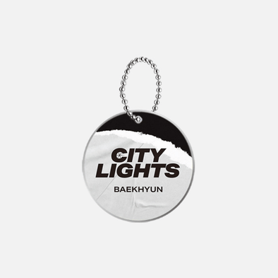 COKODIVE BAEKHYUN - CITY LIGHTS RANDOM KEYRING