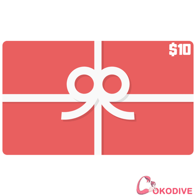 COKODIVE Bags COKODIVE $10 Gift Card