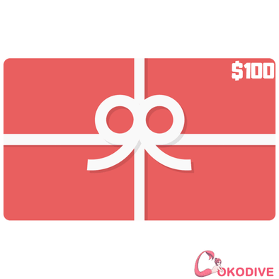 COKODIVE Bags COKODIVE $100 Gift Card