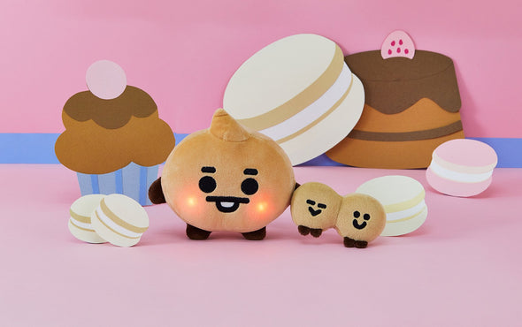 COKODIVE BT21 BABY LIGHT UP CHEEKS STANDING DOLL