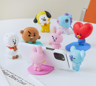 COKODIVE BT21 FIGURE MOBILE HOLDER