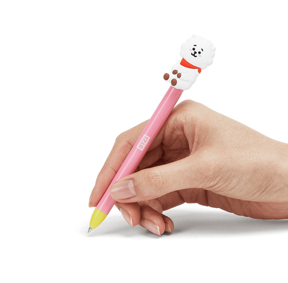COKODIVE BT21 RJ HEART GEL PEN