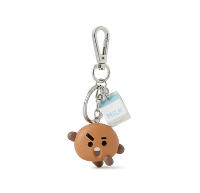 COKODIVE BT21 SHOOKY MINI FIGURE KEYRING