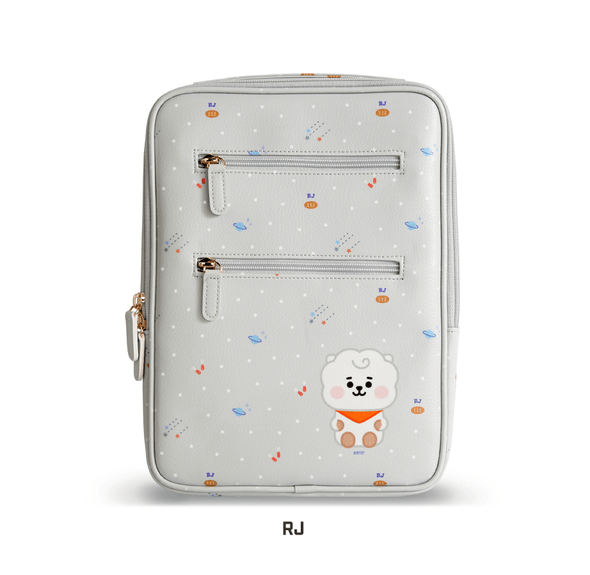 COKODIVE BT21 X MONOPOLY BABY HANDY LAPTOP POUCH (SMALL)
