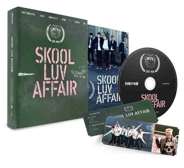 COKODIVE [BTS] 2ND MINI ALBUM - SKOOL LUV AFFAIR