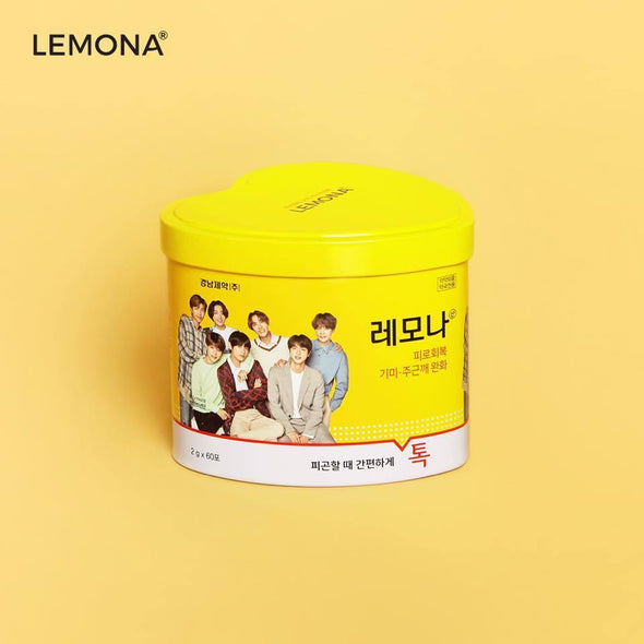 COKODIVE BTS LEMONA PACKAGE - HEART (RANDOM)