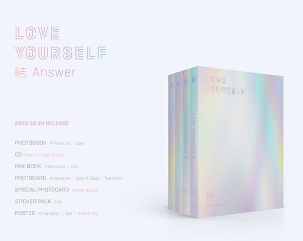 COKODIVE [BTS] LOVE YOURSELF: ANSWER 結 ALBUM