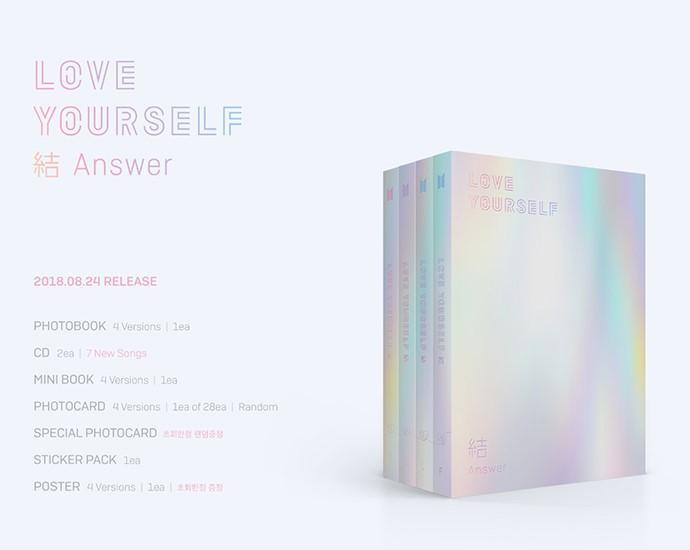 Bts Love Yourself Answer 結 Album Cokodive