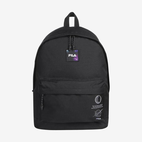 COKODIVE BTS X FILA VOYAGER COLLECTION DAILY BACKPACK (BLACK) [HOT SALE] FILA & BT21 BACKPACK