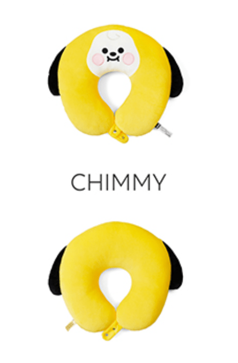 COKODIVE CHIMMY BT21 BABY NECK PILLOW