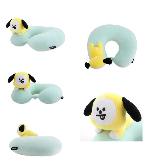 COKODIVE CHIMMY BT21 SOFT NECK PILLOW