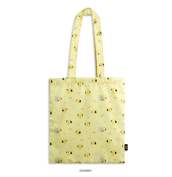 COKODIVE CHIMMY BT21 X MONOPOLY BABY PATTERN ECO BAG